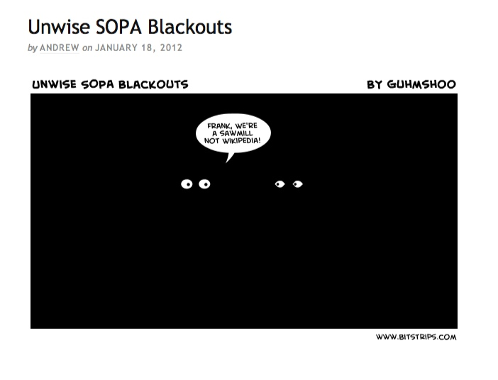 alt-text-image-of-Unwise-SOPA-Blackouts-by-Andrew-Fowler