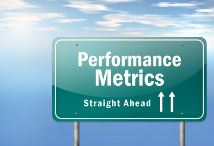 "Image of highway signpost ""performance metrics"""