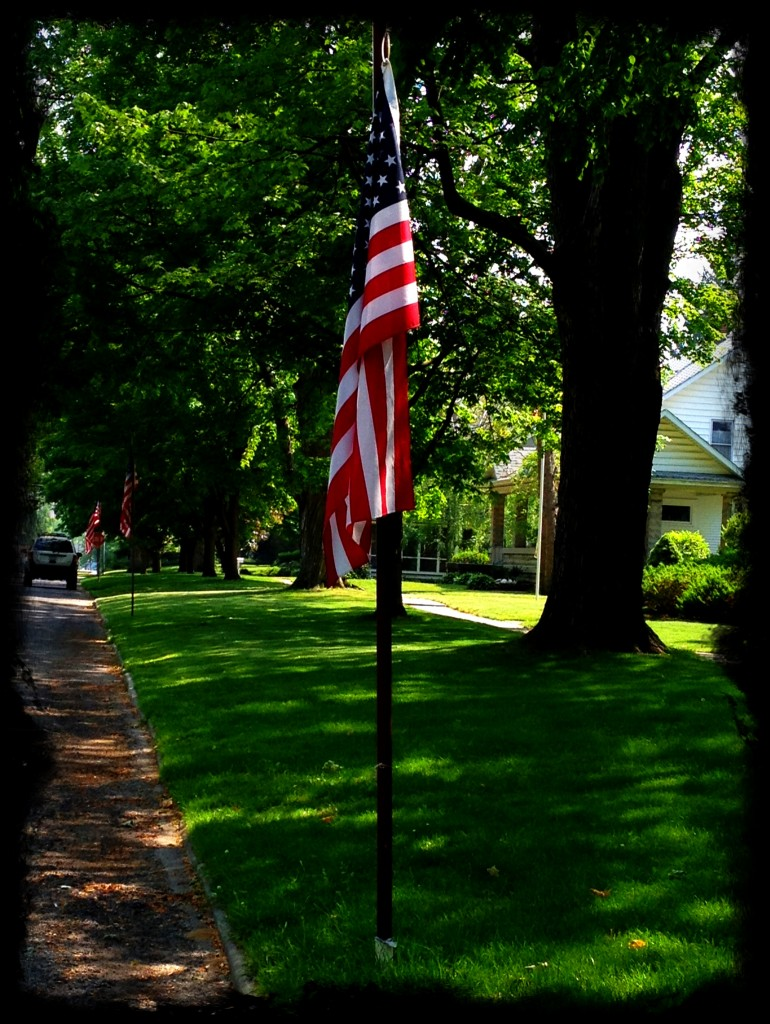 image of American Flag on Memorial Day