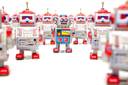 image of robots