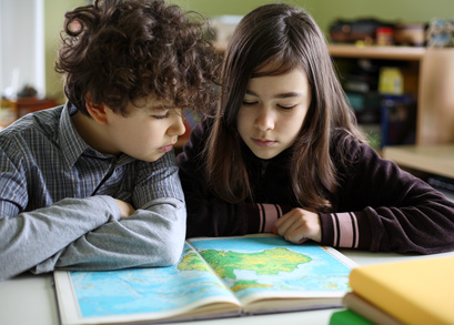 image of kids learning