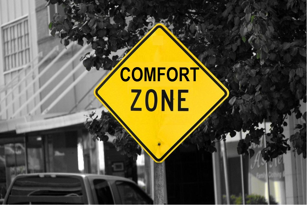 Image of Comfort zone courtesy of C. G. P. Grey on Flickr